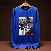 Dolce & Gabbana D&G Hoodies Long Sleeved For Men #443237