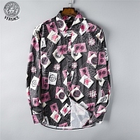 Versace Shirts Long Sleeved For Men #444283