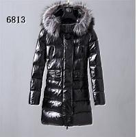 Moncler Down Coats Long Sleeved For Women #445342