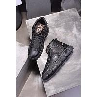 Cheap Versace High Tops Shoes For Men #446922 Replica Wholesale [$88.00 USD] [W-446922] on Replica Versace High Tops Shoes