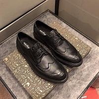Salvatore Ferragamo SF Leather Shoes For Men #447197