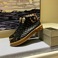 Cheap Versace High Tops Shoes For Men #447616 Replica Wholesale [$82.00 USD] [W-447616] on Replica Versace High Tops Shoes