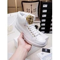 Cheap Versace High Tops Shoes For Men #447625 Replica Wholesale [$82.00 USD] [W-447625] on Replica Versace High Tops Shoes