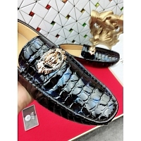 Cheap Versace Leather Shoes For Men #447660 Replica Wholesale [$65.00 USD] [W-447660] on Replica Versace Leather Shoes