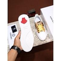 Cheap Versace Casual Shoes For Men #447664 Replica Wholesale [$78.00 USD] [W-447664] on Replica Versace Fashion Shoes