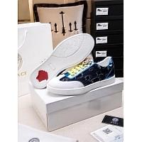 Cheap Versace Casual Shoes For Men #447666 Replica Wholesale [$78.00 USD] [W-447666] on Replica Versace Fashion Shoes