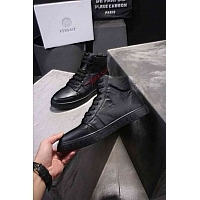 Cheap Versace High Tops Shoes For Men #448612 Replica Wholesale [$98.00 USD] [W-448612] on Replica Versace High Tops Shoes