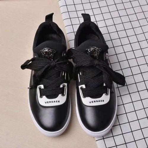 Cheap Versace Casual Shoes For Women #449056 Replica Wholesale [$82.00 USD] [W-449056] on Replica Versace Fashion Shoes
