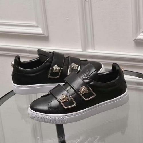 Cheap Versace Casual Shoes For Women #449057 Replica Wholesale [$82.00 USD] [W-449057] on Replica Versace Fashion Shoes