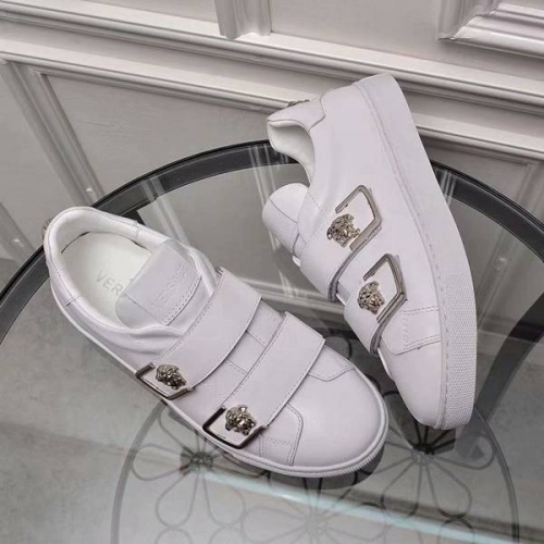 Cheap Versace Casual Shoes For Women #449058 Replica Wholesale [$82.00 USD] [W-449058] on Replica Versace Fashion Shoes