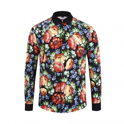 Cheap Versace Shirts Long Sleeved For Men #449867 Replica Wholesale [$40.00 USD] [W-449867] on Replica Versace Shirts