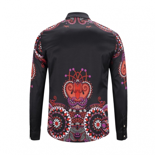 Cheap Versace Shirts Long Sleeved For Men #449869 Replica Wholesale [$40.00 USD] [W-449869] on Replica Versace Shirts