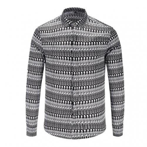 Cheap Versace Shirts Long Sleeved For Men #449873 Replica Wholesale [$40.00 USD] [W-449873] on Replica Versace Shirts