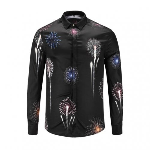 Cheap Versace Shirts Long Sleeved For Men #449876 Replica Wholesale [$40.00 USD] [W-449876] on Replica Versace Shirts