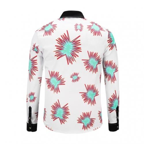 Cheap Versace Shirts Long Sleeved For Men #449878 Replica Wholesale [$40.00 USD] [W-449878] on Replica Versace Shirts