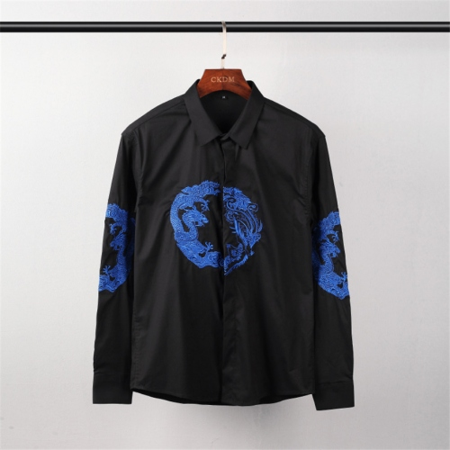 Cheap Givenchy Shirts Long Sleeved For Men #449883 Replica Wholesale [$45.00 USD] [W-449883] on Replica Givenchy Shirts