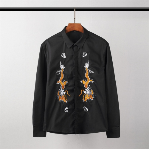 Cheap Givenchy Shirts Long Sleeved For Men #449893 Replica Wholesale [$45.00 USD] [W-449893] on Replica Givenchy Shirts