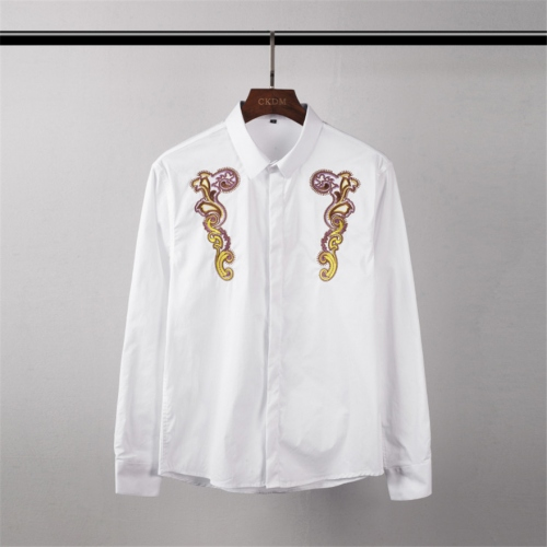 Cheap Givenchy Shirts Long Sleeved For Men #449894 Replica Wholesale [$45.00 USD] [W-449894] on Replica Givenchy Shirts