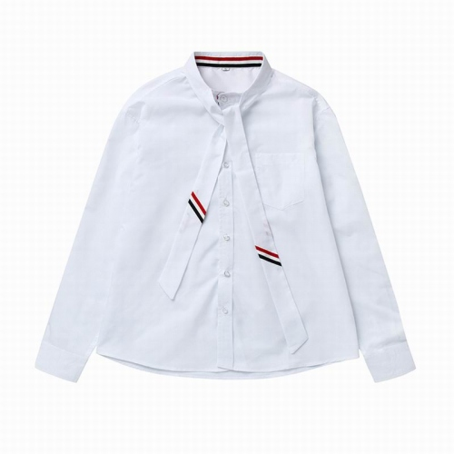 Cheap Thom Browne Shirts For Unisex Long Sleeved Polo For Unisex #451685 Replica Wholesale [$39.77 USD] [W#451685] on Replica Thom Browne TB Shirts