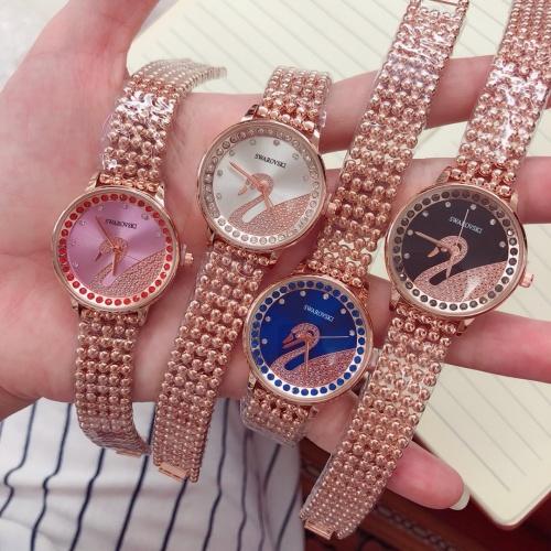 Cheap SWAROVSKI Watches #454519 Replica Wholesale [$35.89 USD] [W#454519] on Replica SWAROVSKI Watches