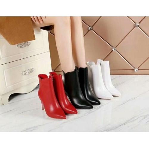 Cheap Gianvito Rossi Boots For Women #454647 Replica Wholesale [$86.33 USD] [W#454647] on Replica Gianvito Rossi Shoes
