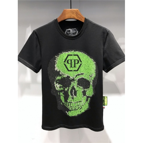 Philipp Plein T-Shirts Short Sleeved O-Neck For Men #455180