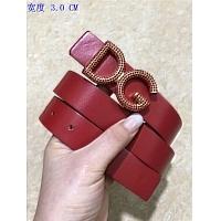 Dolce & Gabbana AAA Quality Belts For Women #449076