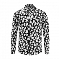 Cheap Versace Shirts Long Sleeved For Men #449866 Replica Wholesale [$40.00 USD] [W-449866] on Replica Versace Shirts