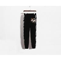 Cheap Aape $ FILA Pants For Men #450907 Replica Wholesale [$43.00 USD] [W-450907] on Replica Aape Pants