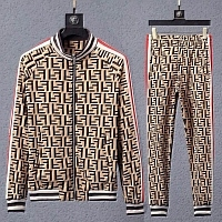 Fendi Tracksuits Long Sleeved Zipper For Men #451298