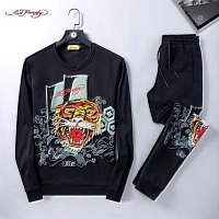 Ed Hardy Tracksuits Long Sleeved O-Neck For Men #452063