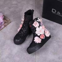 Dolce & Gabbana D&G High Tops Shoes For Women #453677