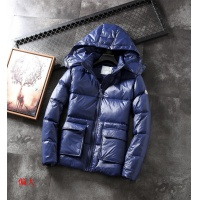 Moncler Down Coats Long Sleeved Zipper For Men #454777
