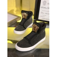 Versace High Top Shoes For Women #455386