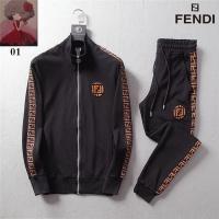 Fendi Fashion Tracksuits Long Sleeved For Men #456043