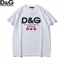 Dolce & Gabbana D&G T-Shirts Short Sleeved O-Neck For Men #456315
