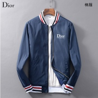 Christian Dior CD Cotton-Padded Coat Long Sleeved Zipper For Men #456545