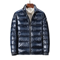 Moncler Down Coats Long Sleeved Zipper For Men #458292