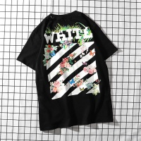 Off-White T-Shirts Short Sleeved O-Neck For Men #458593