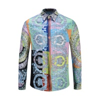 Versace Shirts Long Sleeved Polo For Men #458631