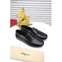 Salvatore Ferragamo SF Leather Shoes For Men #458729