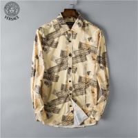 Versace Shirts Long Sleeved Polo For Men #458934