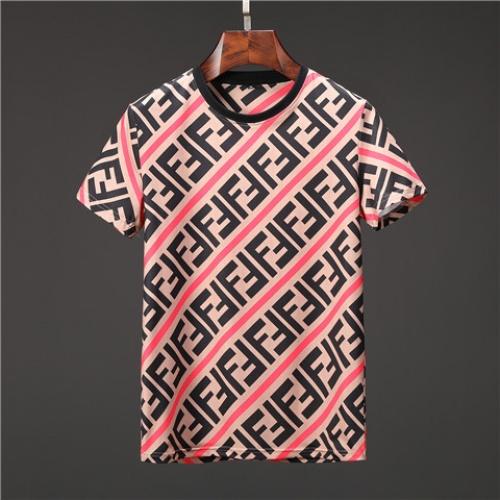 Fendi T-Shirts Short Sleeved O-Neck For Men #463514