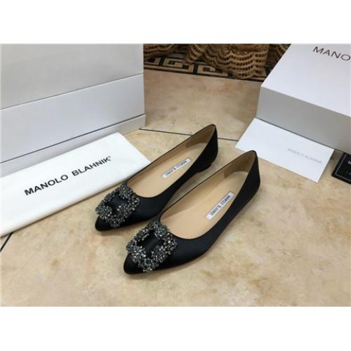 Manolo Blahnik Flat Shoes For Women #463740