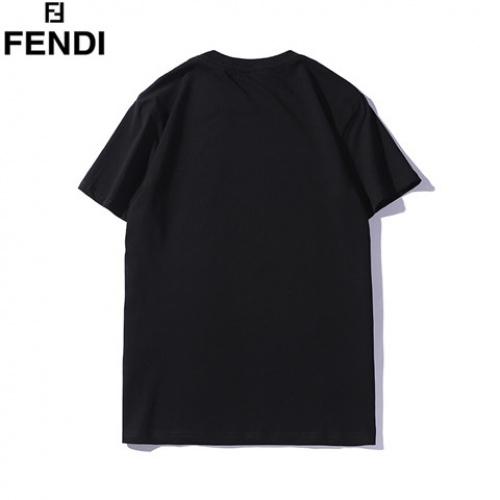 Cheap Fendi T-Shirts Short Sleeved O-Neck For Men #463984 Replica Wholesale [$28.13 USD] [W#463984] on Replica Fendi T-Shirts