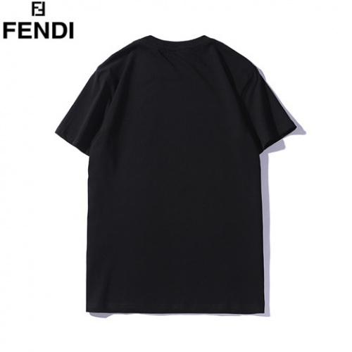 Cheap Fendi T-Shirts Short Sleeved O-Neck For Men #463989 Replica Wholesale [$28.13 USD] [W#463989] on Replica Fendi T-Shirts