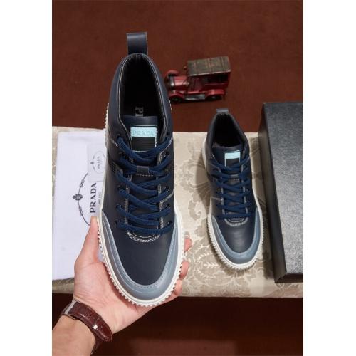 Cheap Prada Casual Shoes For Men #463996 Replica Wholesale [$82.45 USD] [W#463996] on Replica Prada New Shoes