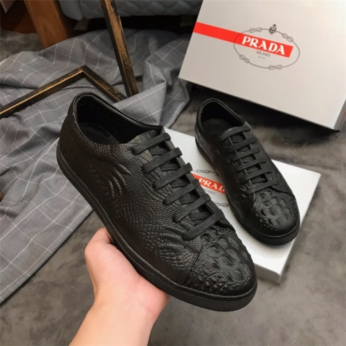 Cheap Prada Casual Shoes For Men #463997 Replica Wholesale [$65.96 USD] [W#463997] on Replica Prada New Shoes