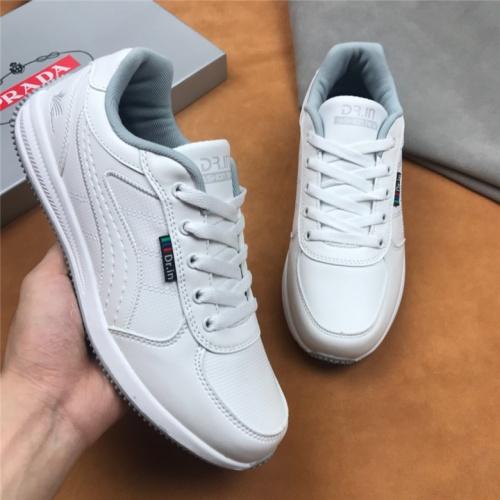 Cheap Prada Casual Shoes For Men #463999 Replica Wholesale [$75.66 USD] [W#463999] on Replica Prada New Shoes