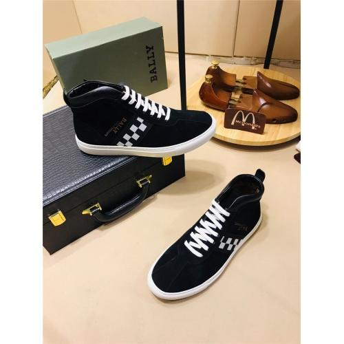 Cheap Bally High Tops Shoes For Men #464041 Replica Wholesale [$75.66 USD] [W#464041] on Replica Bally High-Tops Shoes